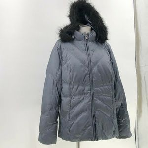 lane bryant puffer coat down feather filled 14/16